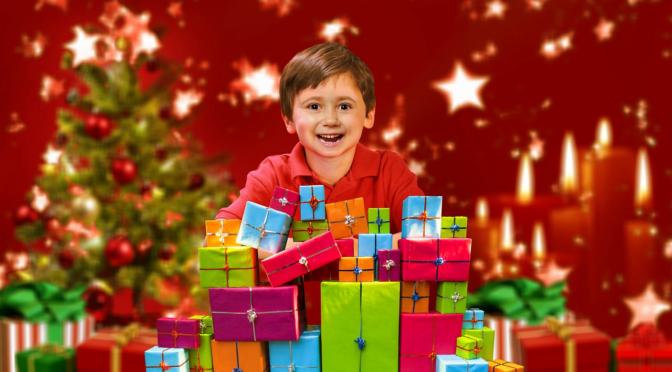 """Weihnachtswitz. Anruf bei Oma: """"Ich danke dir für das Geschenk, was du mir zu Weihnachten geschickt hast."""""""
